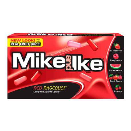 Mike & Ike Red Rageous Theatre Box