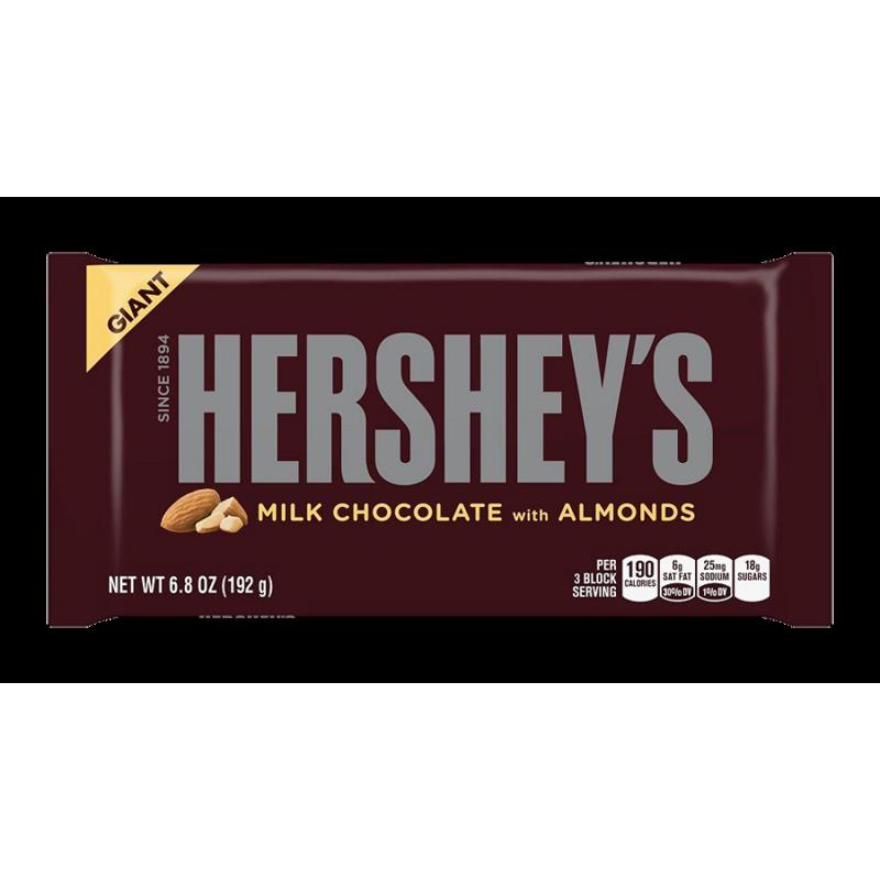 Hersheys Almond Bar Hershey's Milk Chocola...