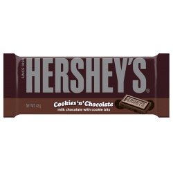 Hershey's Cookies 'n' Chocolate Bar 43g