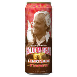 Arizona Jack Nicklaus Golden Bear Strawberry Lemonade