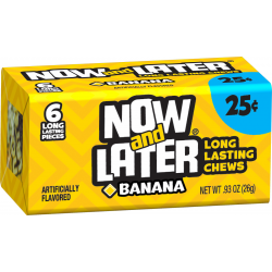 Now & Later Banana - 6 Pcs