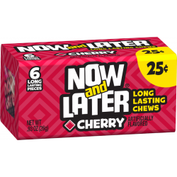 Now & Later Cherry - 6 Pcs