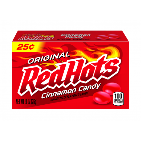 Ferrara Pan Red Hots Original Cinnamon Candy