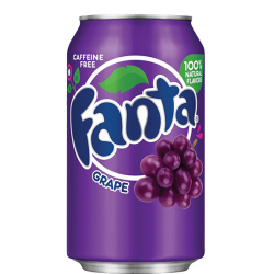 Fanta Grape Can 355ml