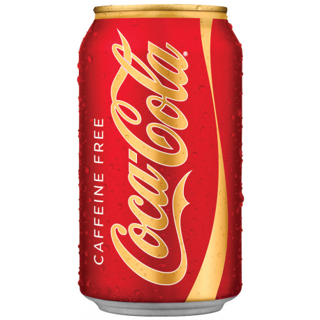 Coca Cola Caffeine Free Can 355ml