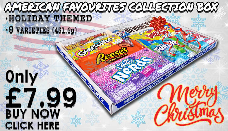American Favourites Collection Box